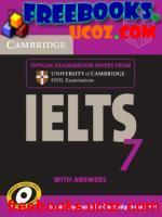 Скачать бесплатно книгу Cambridge University Press Cambridge IELTS 7 Self-study Pack